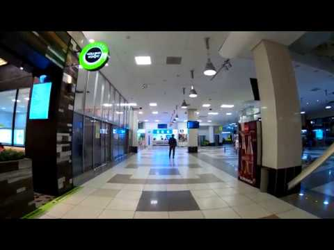 Tolmachevo Airport - Novosibirsk - Russia 4К