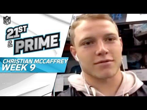 Christian McCaffrey on Big Win, College vs. Pro Game, & Benjamin Trade | NFL GameDay Prime