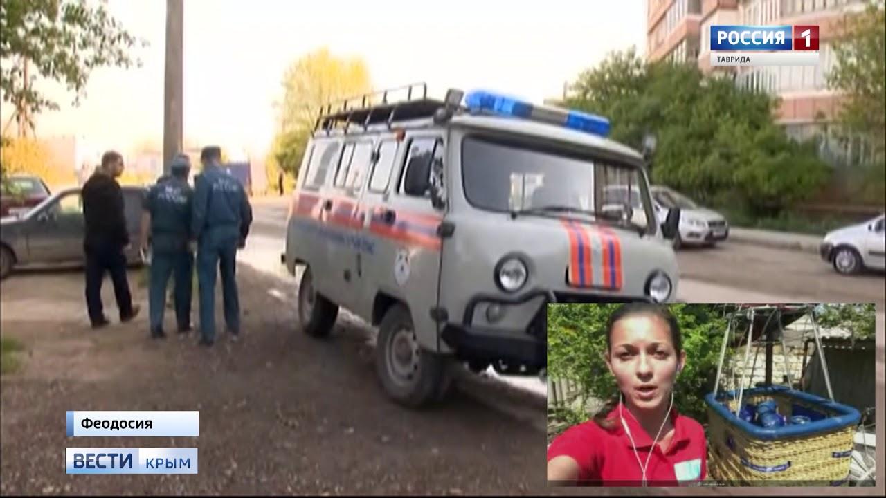 В Крыму полёт на воздушном шаре чуть не обернулся трагедией