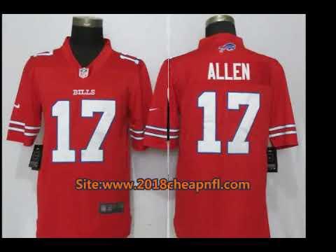 check out 3028e edde2 Buy Buffalo Bills 17 Josh Allen Cheap NFL Jerseys