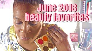 JUNE 2018 FAVORITES       Hair, Makeup, Nails, Food and more