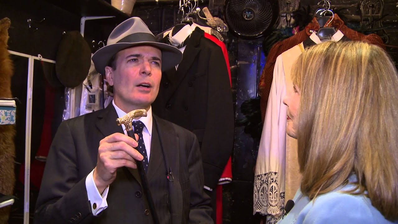 Jefferson Mays - Arts in the City - YouTube