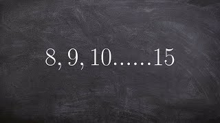Learn how to find the sum of an arithmetic series