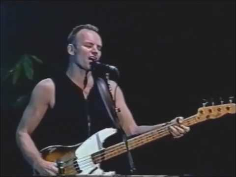 Sting - The Hounds of Winter (live)