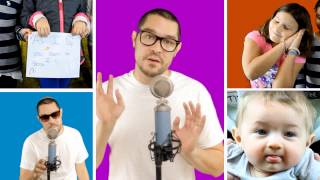 Jewish Rapper: Matt Bar - Raps Adorable Lullaby - Dream a Dream