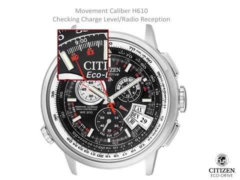 Citizen H610 Setting Instruction Youtube