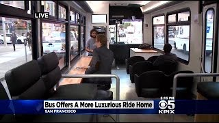 Swanky Startup Bus Service Begins Serving San Francisco