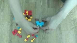 #марио#лего Как сделать марио из лего -  how to make mario from lego