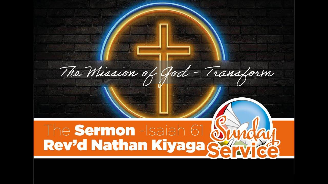 Sunday's Sermon Isaiah 61