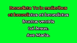 Ave Maria (Bb+) by F. Schubert Karaoke Accompaniment