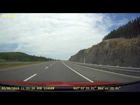 Quebec Hwy 85nb / R 185nb - KM 1 to KM 56