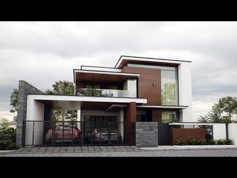 Small Budget Modern Double Floor House 1300 Sft For 13