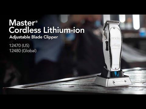 Andis 大師級專用電剪 ( 12470 / Master Cordless Lithium Ion Clipper )