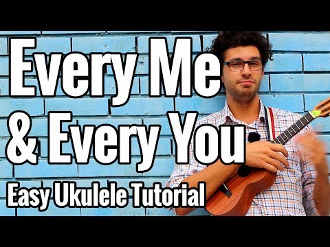 Placebo - Every Me And Every You - Ukulele Tutorial With Play Along