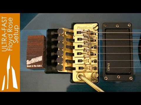 Floating Tremolo Setup in 10 Minutes