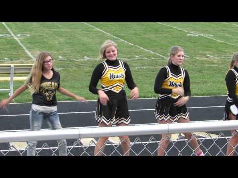 Central Lee Middle School Cheerleaders