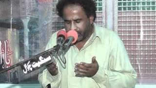 zakir manzoor hussain shah kot addu 2012 8 Zilhaj Gulan Khail MAINWALI Part 1