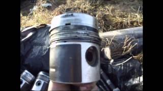 Трактор МТЗ 82 Ремонт двигателя Лопнул коленвал