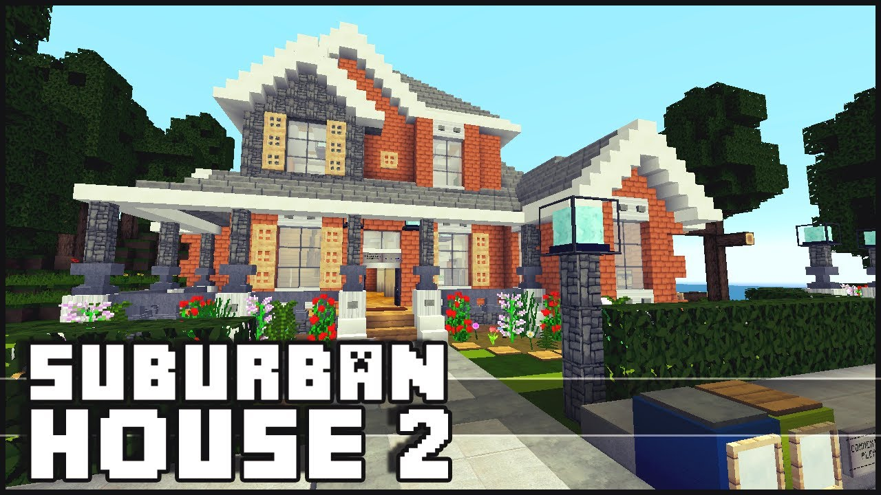 Angles Minecraft Suburban Mansion