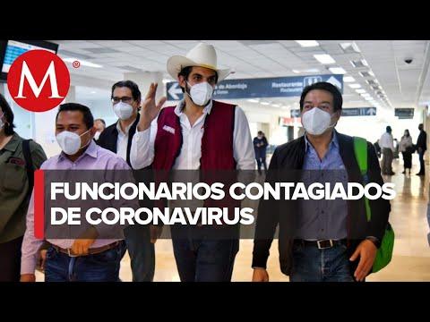 Varios políticos mexicanos contagiados por covid-19 entre ellos Mario Delgado