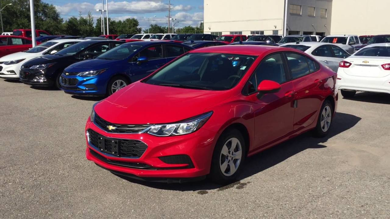 2016 Chevrolet Cruze 4dr Sdn Auto Ls Red Hot Roy Nichols Motors Courtice On