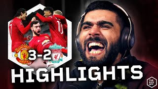 Man Utd Knock Liverpool Out Of FA Cup | Man Utd 3-2 Liverpool