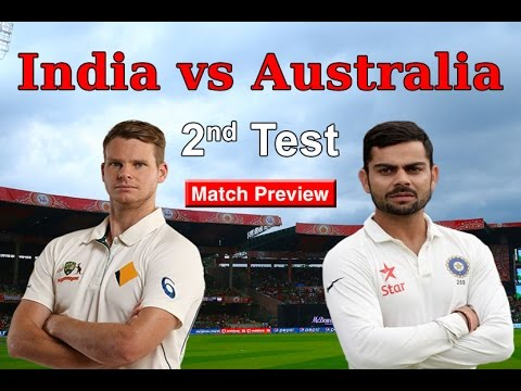 India vs Australia 2017 | 2nd Test Bangalore | Match Preview