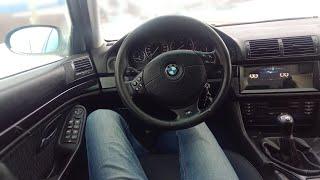 """Самая большая магнитола 10.25"""" BMW e39 на  андроиде"""