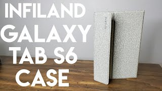 Best Samsung Galaxy Tab S6 Case! Infiland Folio Case Review