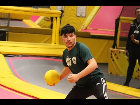 One, two, three...Dodgeball! | Watch Tigers' HITZ youngsters take on Saints & Wasps