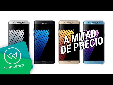 Samsung Galaxy Note 7 volvería a la venta a mitad de precio | El recuento