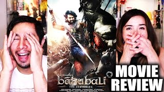 BAAHUBALI: THE BEGINNING   Movie Review by Jaby...