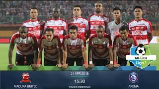 Download Video PREDIKSI SKOR MADURA UNITED VS AREMA FC 21 APRIL 2018 MP3 3GP MP4