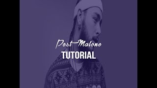 How to Make a Post Malone type beat [FL STUDIO 12 Tutorial]