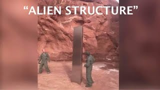 """MIRROR: """"Alien Structure"""" spotted from helicopter literally out in the middle of NOWHERE!"""