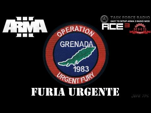 [ArmA 3](MG) Operacion Furia Urgente - Coop.46 Gameplay en Español [1080p Ultra Settings] En Directo