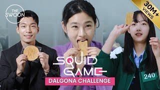 Squid Game stars take on the Dalgona Challenge [ES SUB CC]