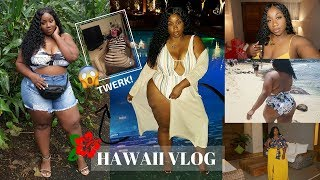 DON'T JUDGE ME! DRUNK NIGHTS, TWERKING, FINE AF HAWAIIAN MEN + FUN ADVENTURES! | HAWAII TRAVEL VLOG
