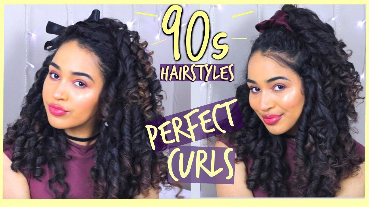 S Hairstyles With Perfect Heatless Ringlet Curls Ft - Hairstyle ringlets curls