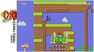 Super Sonic Bros. • Super Mario Maker