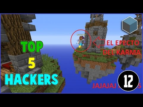 [CUBECRAFT] TOP 5 - HACKERS EN ACCION / EL KARMA HACIA HACKERS #12