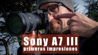 Sony A7 III, probando en Inglaterra la nueva sin espejo de formato completo