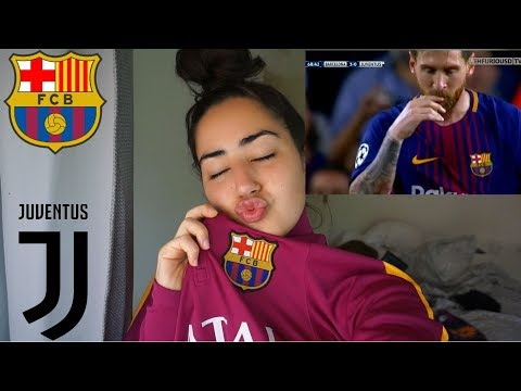 BARCELONA VS JUVENTUS 3-0 | ALL GOALS AND HIGHLIGHTS | REACTION VIDEO!!