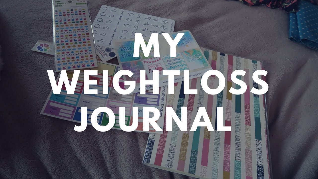 My Weight Loss Journal Diy
