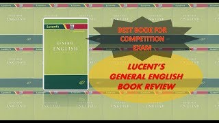 ENGLISH GRAMMAR BOOK - LUCENT'S GENERAL ENGLISH Book Review