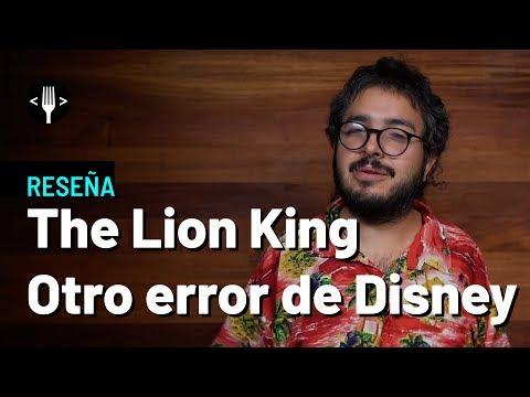The Lion King: Otro error de Disney