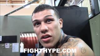 GABRIEL ROSADO KEEPING IT REAL ON FLOYD MAYWEATHER, FIGHT FANS, AND FIGHTERS RISKING THEIR HEALTH