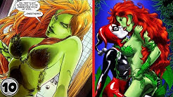 Top 10 People Poison Ivy Has Hooked Up With ||#Top10