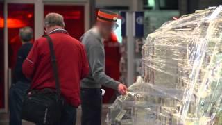100 millions d'euros abandonnés dans une gare