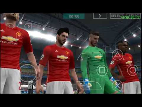 PES 17 D-Pad control Gameplay ON Android via PPSSPP Emulator!!!